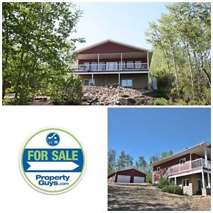 Acreage overlooking the lake! 30 min from Camrose!!