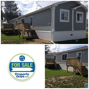 New Modular Home in Midland Mobile Home Park. Millet