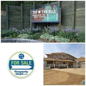 Own your own golf course & have an amazing acreage! Sylvan Lake