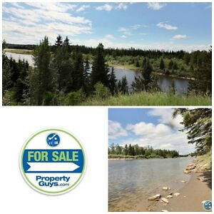 Acreage! Beautiful, once in a lifetime riverfront property.