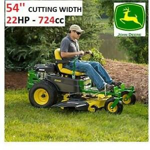 NEW* JOHN DEERE RIDING LAWN MOWER BG20959 248183114 Z375R ZTRAK 54 DECK 25hp 11km/h