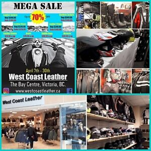 MEGA SALE 30-70% OFF - MOTORCYCLE WEAR & GEAR