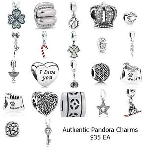 AUTHENTIC PANDORA CHARMS - ALL BRAND NEW