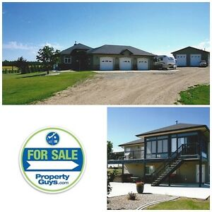 Acreage with Beautiful view of Gull Lake!