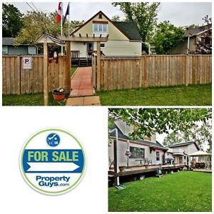 Home with B & B in cottage district! Sylvan Lake
