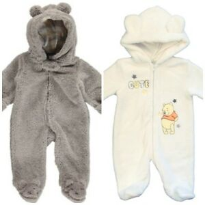 New Disney & Carter's Hooded Sherpa Bunting / Boy 3m