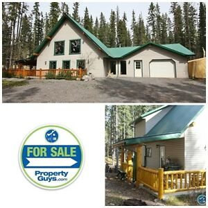 Acreage with great home or vacation property in the Nordegg!