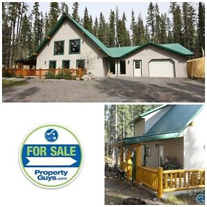 Great home or vacation acreage property in Nordegg!