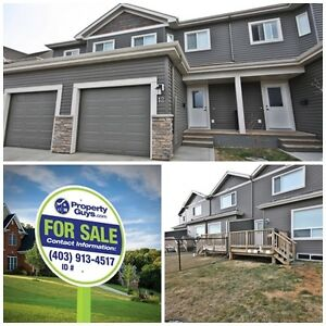 REDUCED! 2 storey Condo with an attached garage in Lacombe!!