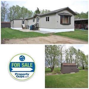 PRICE REDUCED! Upgraded mobile in Poplar Grove! Ponoka