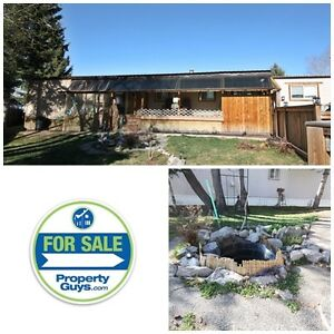 Fully renovated and updated mobile home in Innisfail!
