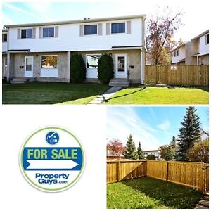 REDUCED! Full family home! Condo townhouse in Normandeau!