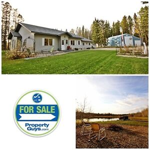 Acreage with Ranch Bungalow! Rocky Mountain House