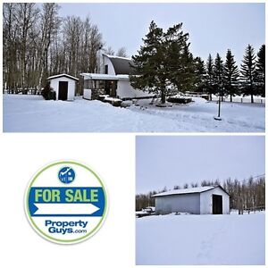 Beautful Acreage in Westerose! 6.7 Acres, 3 level home!