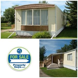 3 bdrm Atco Sierra mobile home in the 55+ area of Parkland Acres