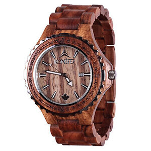 clearance sale for selected wooden watches, 50% off, New