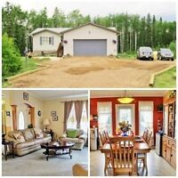 *REDUCED* BEAUTIFUL HOME NEAR GREGOIRE LAKE