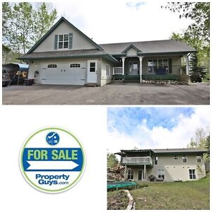REDUCED! Acreage with home min from Red Deer & Sylvan Lake!!