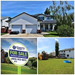 6 bedroom home on a large lot!! Innisfail
