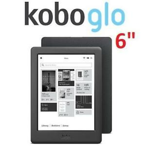 "REFURB KOBO GLO HD 6"" EREADER N437-KU-BK-K-EP 172703901 4GB WIFI TABLET BLACK REFURBISHED"