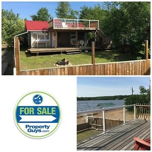 Overlooking the beach! Hardisty Lake!!! NEW PRICE! Motivated