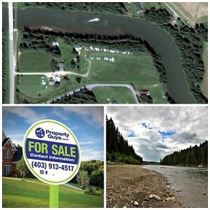 Acreage on the Clearwater River! Rocky Mtn Hse!