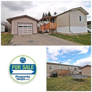 PRICE REDUCED!! Mobile with det garage!! Lacombe