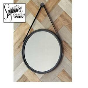 NEW- DUSAN ACCENT ROUND MIRROR A8010094 225074144 SIGNATURE DESIGN BY ASHLEY 20''