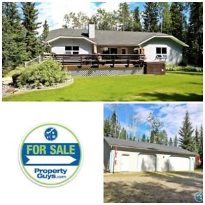 Beautiful Acreage with a walkout bungalow!! Rocky Mountain House