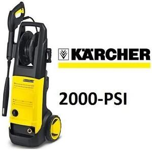 NEW KARCHER PRESSURE WASHER - 119242593 - 2000-PSI ELECTRIC