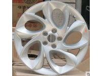 NEW SET OF 4 - 17 INCH TWIST OF PEPPER ALLOY WHEELS MG VW VAUXHALL FIAT AUDI