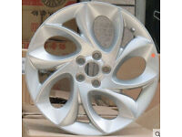 NEW SET OF TWIST OF PEPPER - 17 INCH ALLOY WHEELS 5 STUD 100 MM PCD MG VW VAUXHALL SCUBY ALSO BLACK