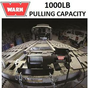 NEW WARN UTILITY WINCH 1000LB CAPACITY - 43' OF STEEL ROPE 105641866