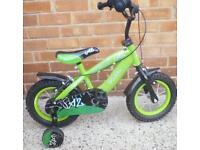 12 inch bicycle perfect condition like brand new suit around 3years and up wards £40.