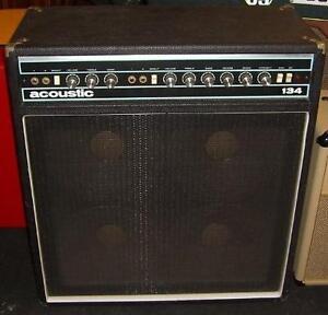 Acoustic 134 Amp - 125 Watt - 4X10 - MINT - Vintage