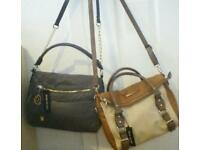 Two ladys river island bags brand new £15 each.
