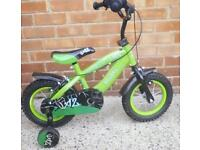 12 inch bicycle perfect condition seldom used like brand new £40.