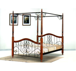 double 4 poster bed delivery included