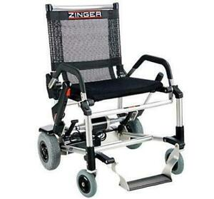 ZINGER Folding Powered Chair - 47 lbs with battery - Buy NEW in Edmonton from My Scooter Alberta Preview