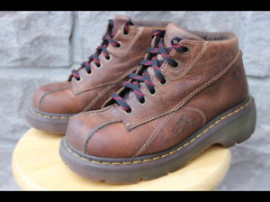 Women's Ladies Dr. Martens Doc Martens Leather Shoe Hiking Boot