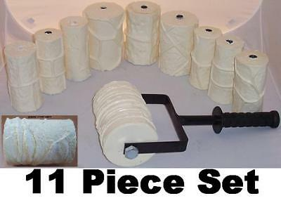 Concrete Cement Landscape Curbing Machine 11 Roller Set