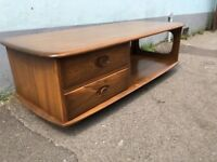 Ercol Minerva Coffee Table in Elm and Beech. Vintage/Retro/Mid Century