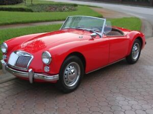 Do you have a MGA Roadster? I'm looking for one for myself