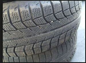 """(4) Michelin Defender 205-55-r16 with 7/32"""" treads depth (70%) m"""