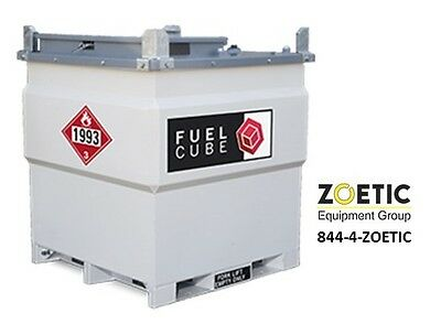 Western Global Fcp250 Fuelcube 250 Gallon Stationary Fuel Storage Tank