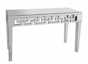 MONDERN GLASS CONSOLE TABLES (ID-125)