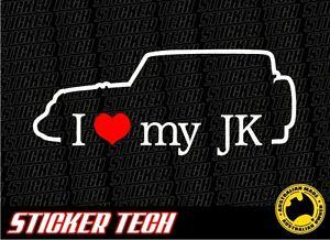 I-LOVE-HEART-MY-JK-2-DOOR-STICKER-DECAL-SUIT-JEEP-WRANGLER-4X4-07-14