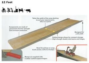 WHEELCHAIR RAMPS, TRUCK RAMPS & UTILITY RAMPS ON SALE. IN STOCK London Ontario image 2