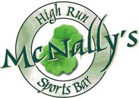 McNally's Sports Pub-Now Hiring Full & Part Time Line Cooks