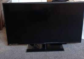 40 inch TV with built in DVD player
